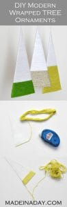 Modern Wrapped Tree Ornaments 1