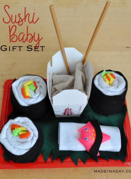 Sushi Baby Shower Gift 37