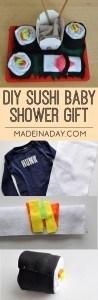 Sushi Baby Shower Gift 1