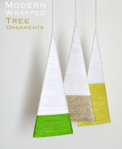 Modern Wrapped Tree Ornaments 39