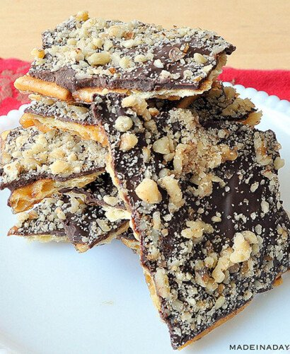 Christmas Crack: Saltine Crunch Bars 6