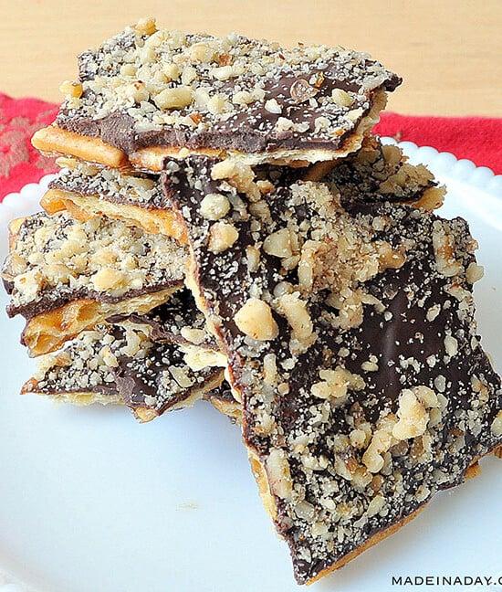 Christmas Crack: Saltine Crunch Bars 6