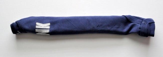 fold onesie for roll