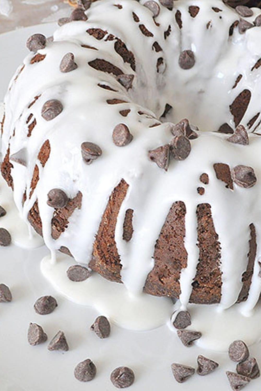 Chocolate Chip Chocolate Cake Recipe