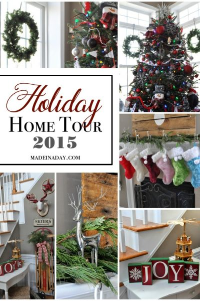 Mini Holiday Decor Tour
