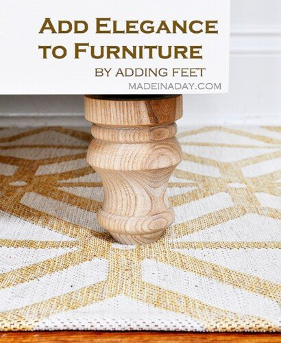 How to Add Feet Legs to Furniture 31