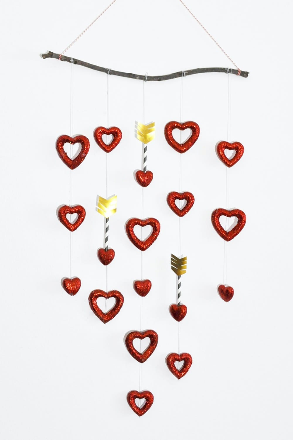 Simple Valentine Sweetheart Mobile