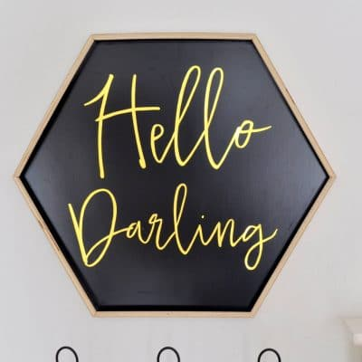 Hello Darling Sign FREE Printable