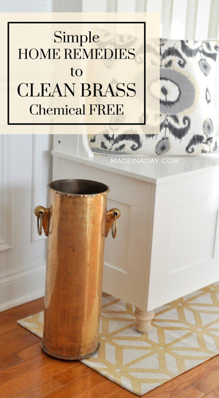How to Clean Brass Chemical Free Remedies madeinaday.com