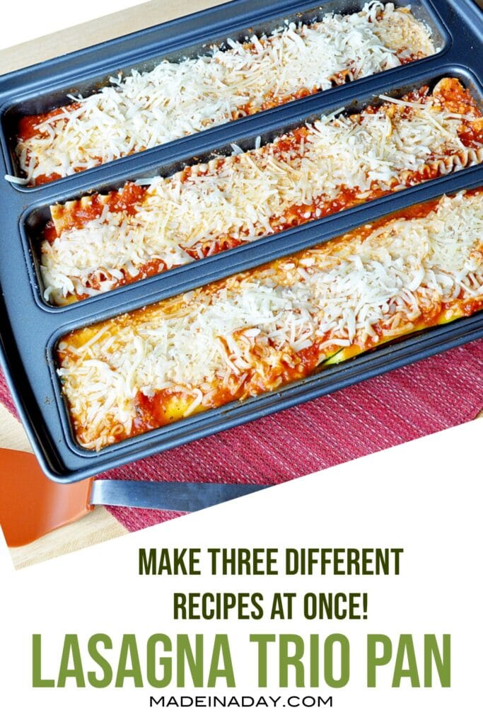 lasagna trio pan review, spinach lasagne recipe