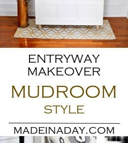 How to Update an Entryway into a Mudroom 31