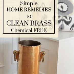 Simple Home Remedies for Cleaning Brass madeinaday.com