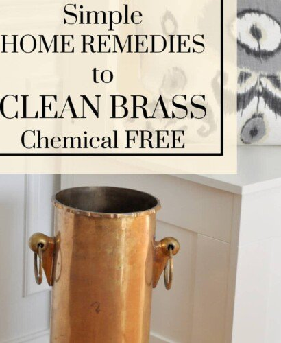 Clean Brass with Home Remedies 33