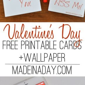 Simple Modern Valentines Day Card Printables 31
