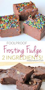 Simple Frosting Fudge 1