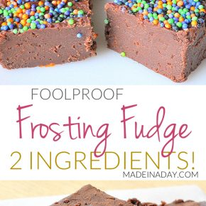 Simple Frosting Fudge 1