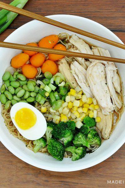 Easy Homemade Restaurant Style Miso Ramen