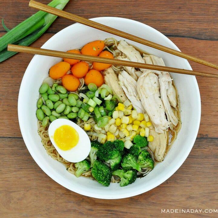Easy Homemade Miso Ramen