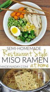 Easy Homemade Restaurant Style Miso Ramen 1