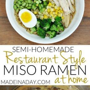 Easy Homemade Restaurant Style Miso Ramen 5