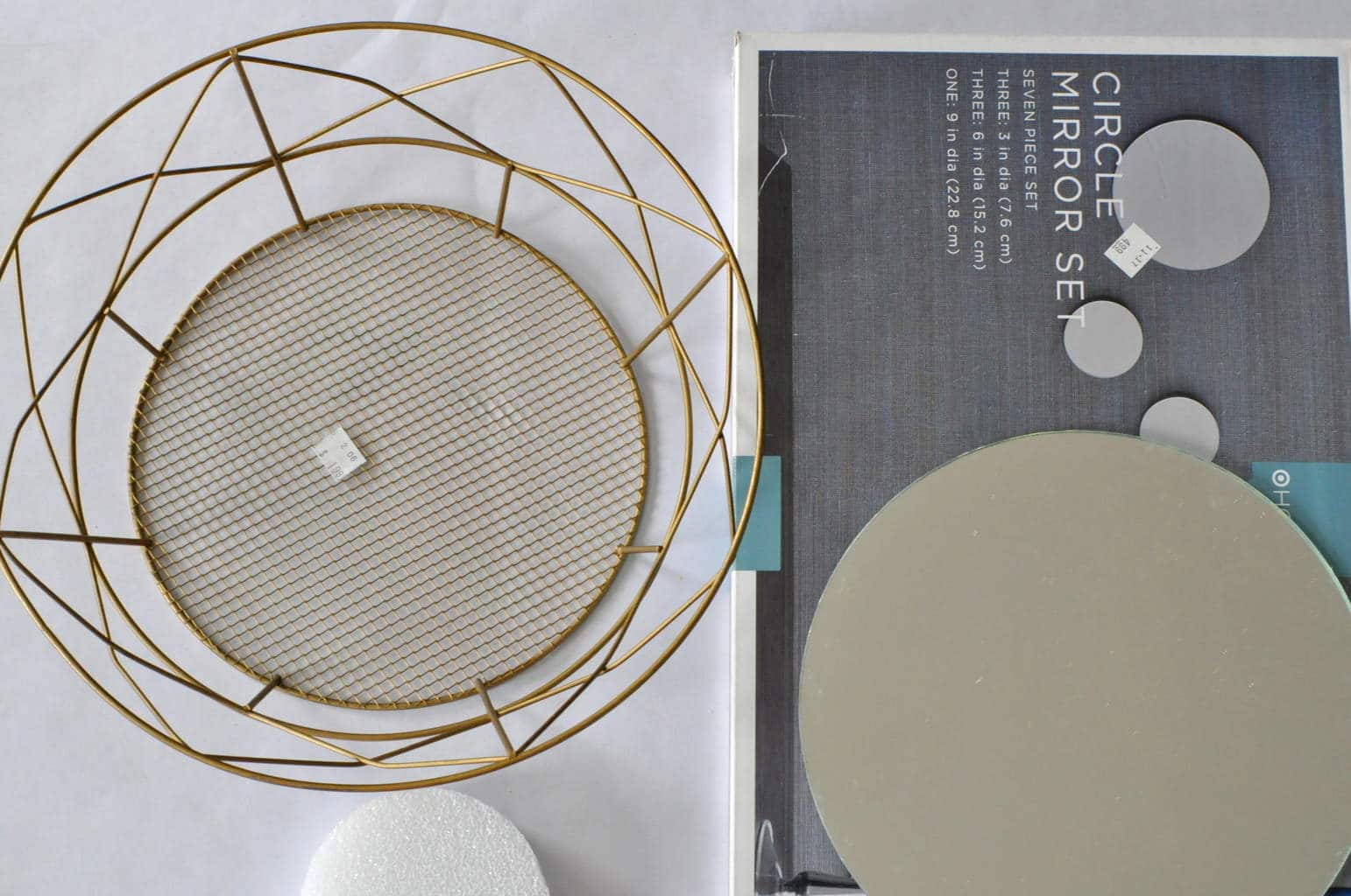 DIY Geometric Decorative Mirror | Made in a Day