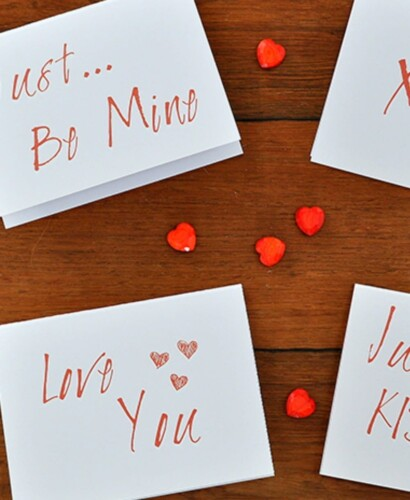 Simple Modern Valentines Day Card Printables 31