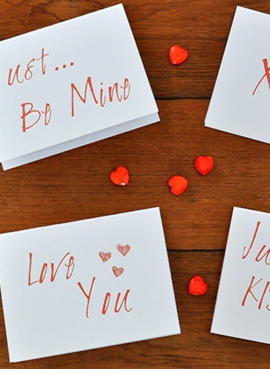 Simple Modern Valentines Day Card Printables 2