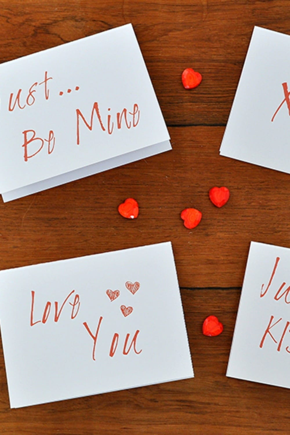 Simple Modern Valentines Day Card Printables