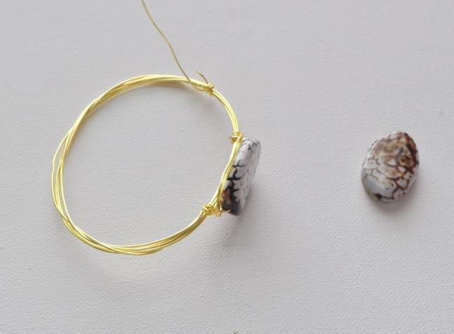 add bead to bracelet