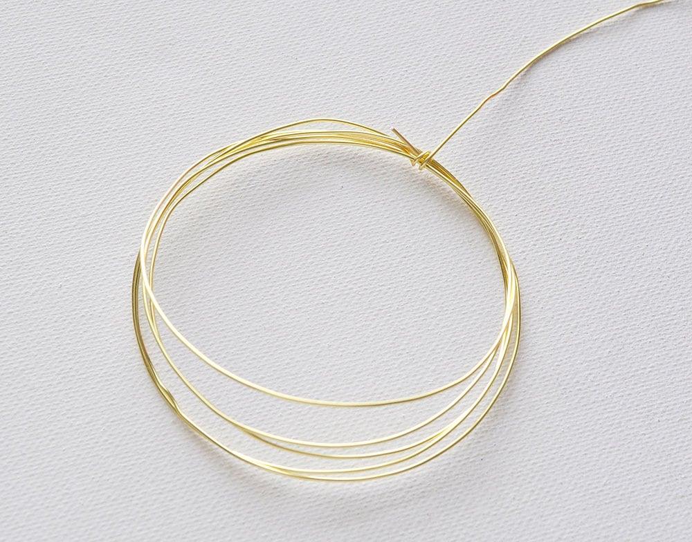 tie off wire bracelet
