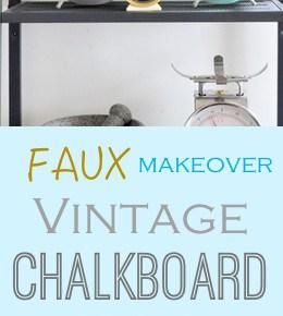 Chalkboard Alarm Clock Makeover 1
