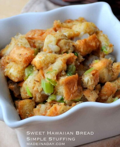 Sweet Hawaiian Bread Simple Stuffing 38