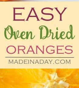 Oven Dried Orange Lemon Slices 1