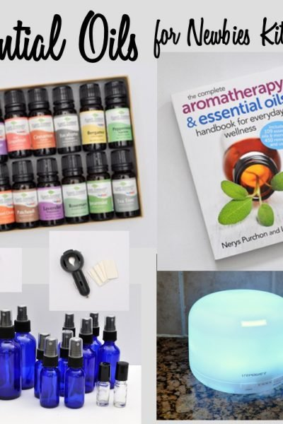 Essential Oils Starter Kit for Beginners