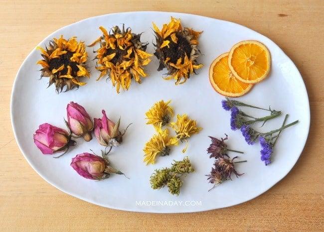 How to dry flowers for potpourri madeinaday.com