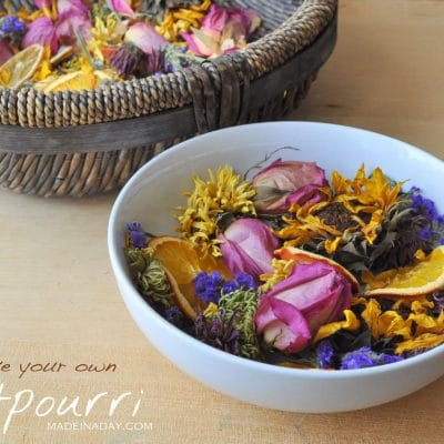 DIY Potpourri from a Floral Bouquet