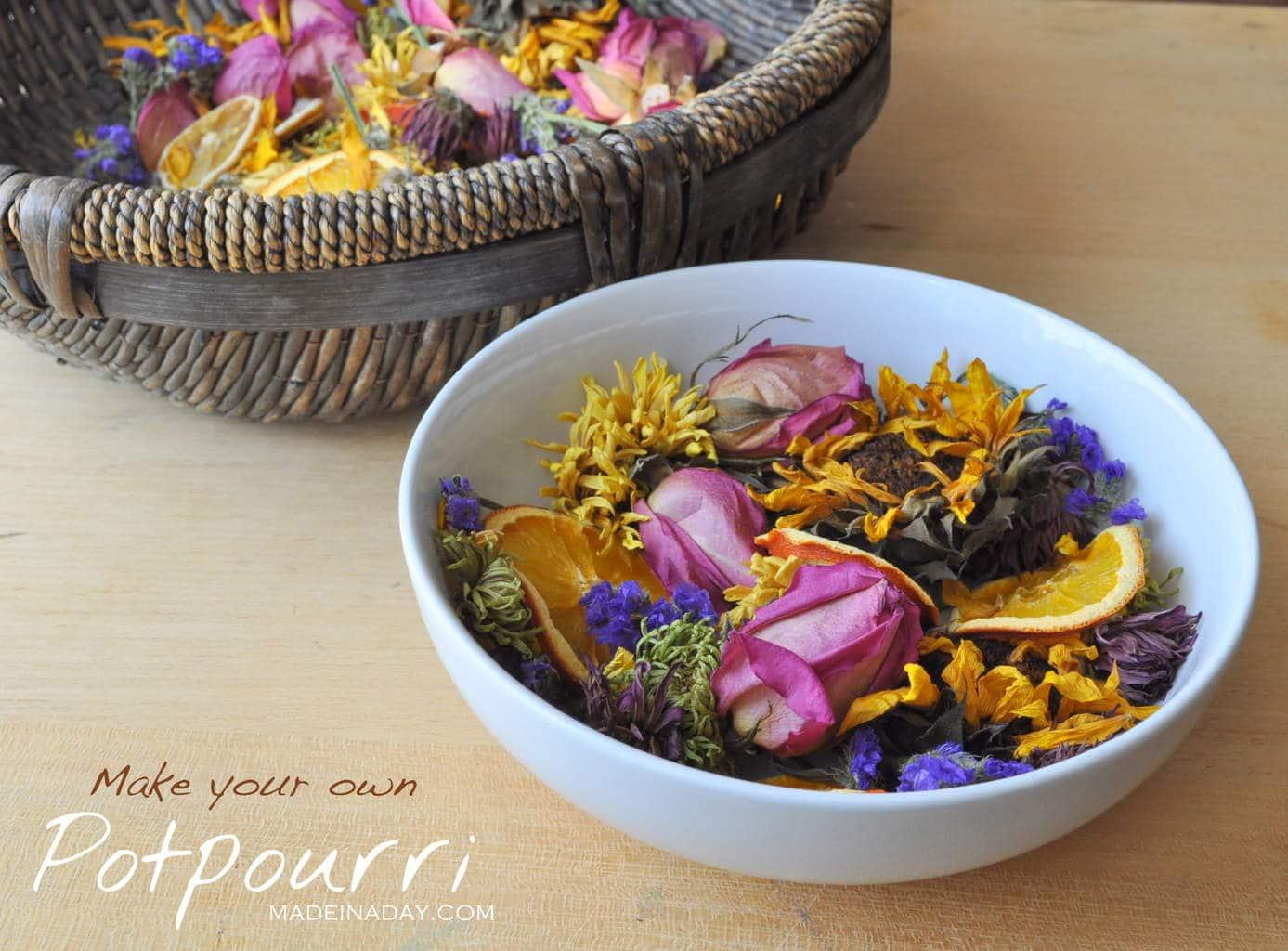 Make your own potpourri madeinaday.com