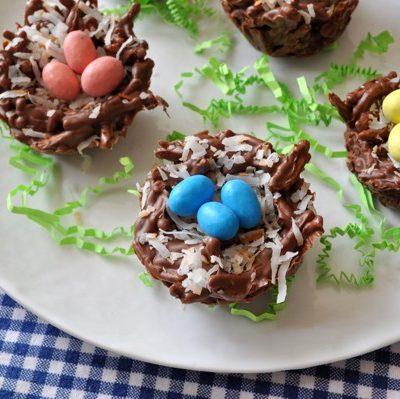Chocolate Coconut Bird Nests
