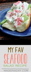 My Favorite Dreamy Seafood Salad Recipe 1