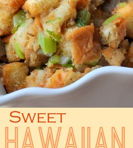 Sweet Hawaiian Bread Simple Stuffing 6