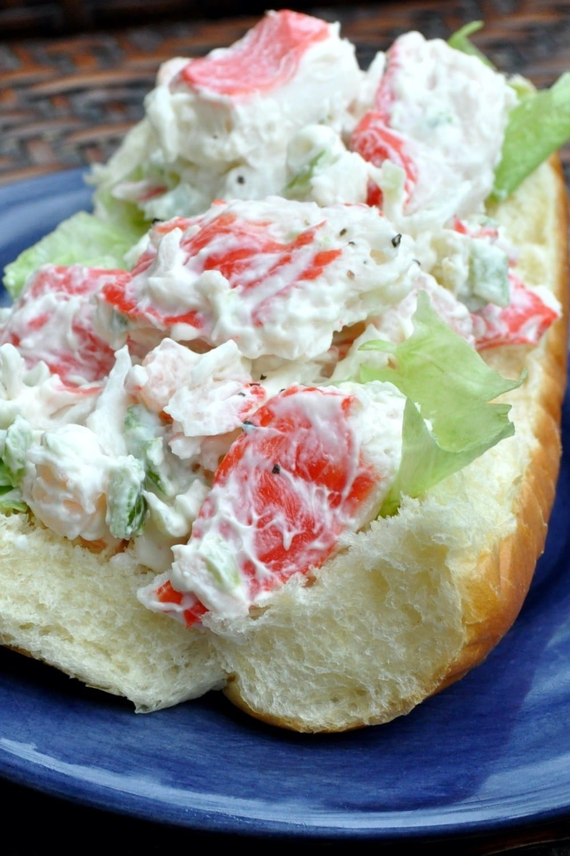 My Favorite Dreamy Seafood Salad Recipe