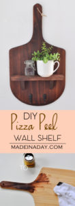 Pizza Peel Wall Shelf 1