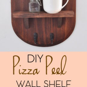 Pizza Peel Wall Shelf 31
