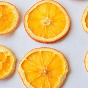 Oven Dried Orange Lemon Slices 29