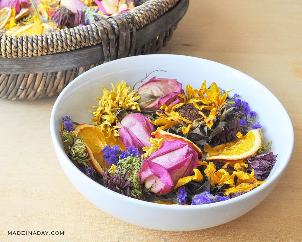 how to make dried flowers in the oven, oven dried flowers