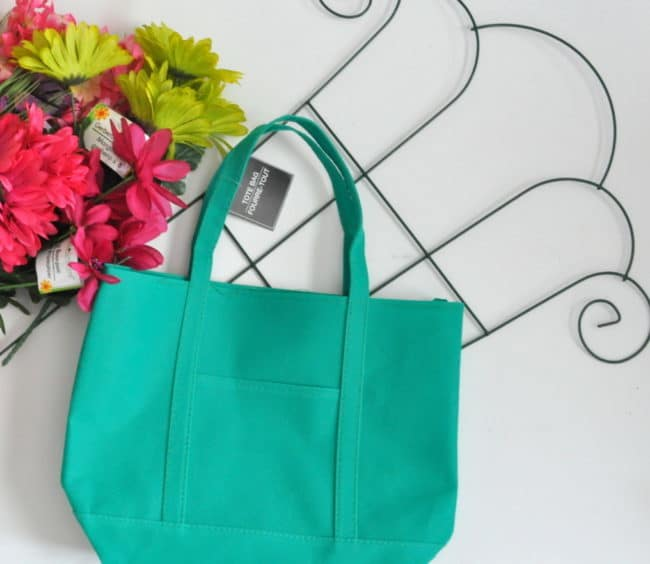 Make a Tote Bag Arrangement