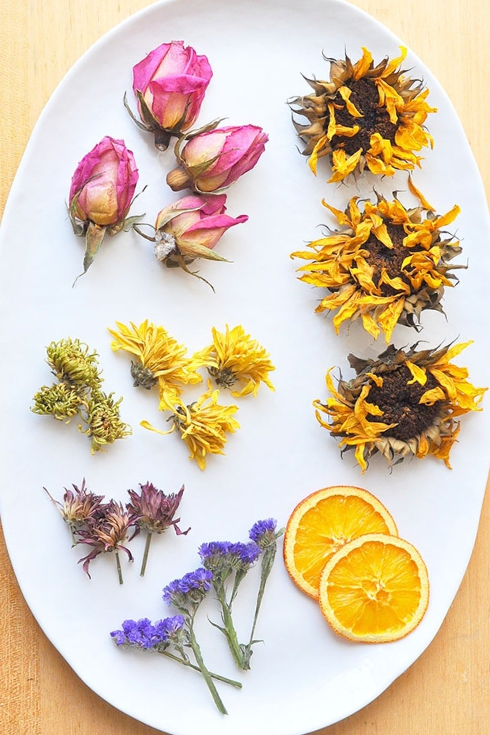 Effortless Oven Dried Flowers for Crafts