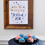 Graduation Free Printables & a Pie Pan Makeover..well almost