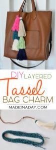 How to Make a Layered Tassel Bag Charm 1
