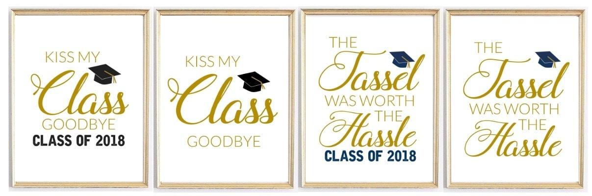 Graduation Printables for parties, grad quotes